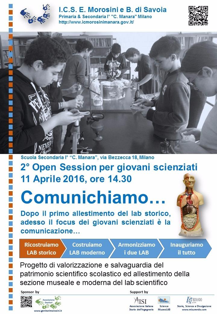 seconda open session