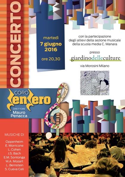Locandina concerto 7.6.2016